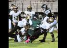 The Yellow Jacket defense was relentless last Friday night at Berea, posting a 61-0 shutout during the teams' seventh win of the season. Greer remains undefeated heading into the final three weeks of the regular season.