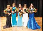 The top five contestants from Saturday's Miss GHS pageant were Tory Abercrombie - 4th, Ella Kate Brannon - 1st, Carson Hannon - Miss GHS, Jazmine Rainey - 2nd and Kendal Lanford - 3rd.