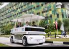 Folks at Greer Memorial Hospital tested a driverless shuttle last week.