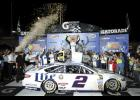 Brad Keselowski led all but 17 of 400 laps, winning the Federated Auto Parts 400, the final race of the NASCAR Sprint Cup Series regular season.