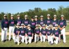 Show of support: The Riverside Middle School baseball team supported one of its teammates as his mom battles cancer by wearing special uniforms to play against Northwest Middle on Tuesday evening.​