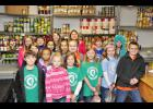 Lyman Elementary School students donated a total of 8,158 canned goods to the Greer Soup Kitchen and other  local nonprofits.