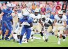 Quez Mayes led the Byrnes rushing attack, as the Rebels dominated Greer in Week 1 action. Byrnes will travel to North Carolina this Friday to take on Mallard Creek.