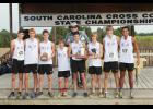 The Greer Middle College Charter High School boys cross country team recently  took first place at the state championship meet in Columbia.