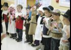 Pilgrim performance: Preschool students from Mt. Lebanon Baptist Church perform a Thanksgiving program for Senior Diners at Greer Community Ministries last week.