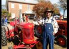 The antique tractor and power equipment show is always a big draw for the Gowensville Festival.