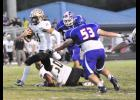 Greer quarterback Mario Cusano provided the spark on offense against Riverside, rushing and throwing for more than 200 total yards and two touchdowns.