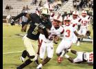 Braxton Collins helped Greer earn its first win of the season over Clinton last Friday night, as the Jackets cruised to a 21-7 victory.