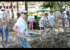 Last year, more than 300 volunteers worked around the Greer community on 50 plus projects, including a clean-up day at Greer City Park.