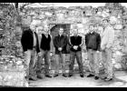 New River Bluegrass (from left to right): Mike Mullins, Barry Long, Andy Smith, Dwayne Brown, Chuck Price and Mike Johnson.
