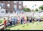National Day of Prayer: Children release balloons symbolizing prayers at Greer First Baptist's National Day of Prayer service on Wednesday, April 30. Several local ministers were on hand to offer prayers for the nation at the noon ceremony.