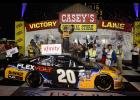 Erik Jones led 154 laps during the U.S. Cellular 250 at Iowa Speedway over the weekend, taking the victory.