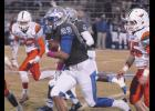 Byrnes' Isaiah Hill continued his dominance on the ground against Mauldin, scoring two touchdowns in the first quarter on homecoming night.