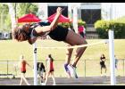 The Greer High School boys and girls track teams each took second place at the county meet last Wednesday, with several individuals advancing to the state qualifiers.